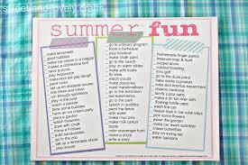 summer fun printable printables mom summer vacation
