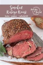 smoked ribeye roast keto whole30