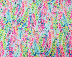 lilly pulitzer fabric for sale.  Pulitzer 1 Yard 36 For Lilly Pulitzer Fabric Sale R