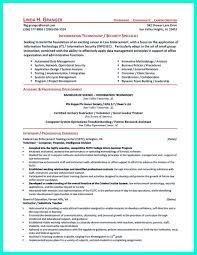 Sample Information Security Resume Superb Sample Information Security Resume Sample Resume Template 5