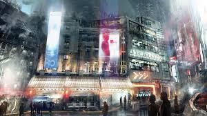 futuristic city wallpaper 27