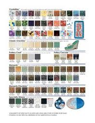 Mayco Jungle Gems Color Chart 14 Best Color Charts Glaze Lines We Carry Or Can Special