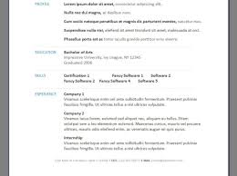 87 Resume Maker Good Resumer Example
