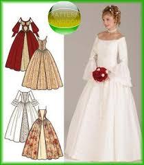 Simplicity Wedding Dress Patterns Beauteous Simplicity 48 STUNNING Medieval Wedding Dress Patterns