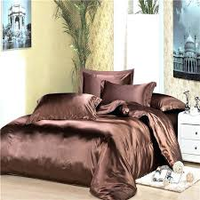 satin comforter set luxury bedding sets dark coffee silk duvet cover twin full purple comfor satin comforter set striped bed linen purple