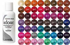 Hair Dye Colors Chart Adore Hair Color Creams For Sale Ebay