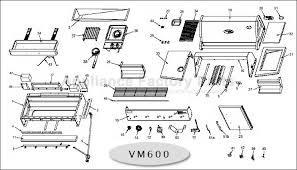 vermont castings vm600 bbq parts image