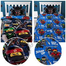 lego ninjago crew single duvet cover and pillowcase