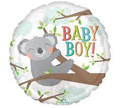 18 koala baby boy baby shower balloon baby koala bear theme koala bear balloon koala bear decor koala bear party koala bear balloons
