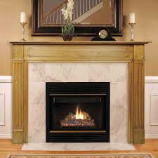 48 williamsburg unfinished fireplace surround by pearl mantels