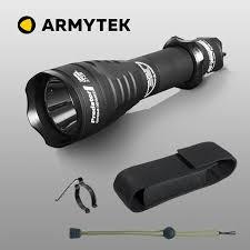 Chiến thuật Đèn Pin Armytek Động Vật Ăn Thịt XP L HI LED Tự Vệ Đèn Pin Siêu  Sáng LED Flashlights
