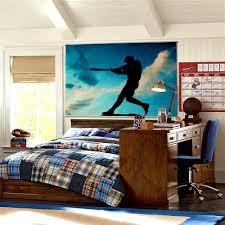 Interior Designs Astonishing Varsity Baseball Wall Mural Room Picture For  Bedroom Plus Study Desk Make A