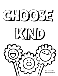 Find the coloring sheets you need here. Celebrate Random Acts Of Kindness Day New Orleans Jcc