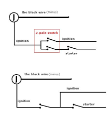 awesome push button ignition 5 steps (with pictures) Start With Push On Kill Switch Wiring Schematic why relay? isnt there simplier way? or maybe i dont understand something