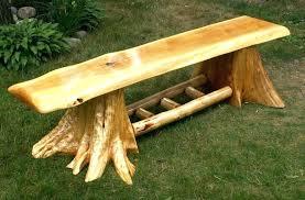 log bench ideas wood log bench rustic log benches log chairs wood log bench ideas outdoor