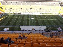 Heinz Field Seating Chart Row Numbers Heinz Field Section 534 Home Of Pittsburgh Steelers