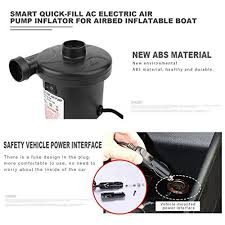 Exiao <b>Smart</b> Quick-Fill AC <b>Electric Air Pump Inflator</b> for Airbed ...