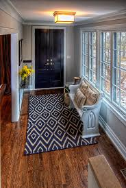 Bright Foyer Bench Mode Chicago Traditional Entry Image Ideas With Area Rug  Ceiling Lighting Church Pew Console ... T
