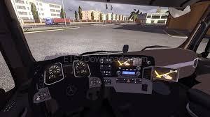 Ets Light Mercedes Mercedes Actros Mp4 Update V4 0 Euro Truck Simulator 2 Mods
