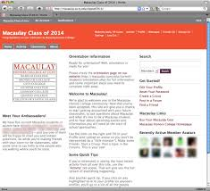 lauren f klein instructional technology eportfolio the macaulay eportfolio collection a case study in the uses of social networking for learning