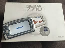Nokia 7710 Silver - Unlocked CellPhone ...