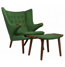 papa bear chair. Replica Hans Wegner Papa Bear Chair And Ottoman