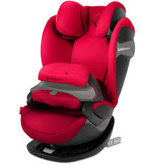 Cybex Pallas S-Fix - Rebel Red - Child Seat Group 1-2-3