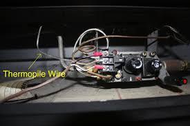 gas fireplace thermocouple repair