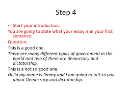 how to write an essay 6