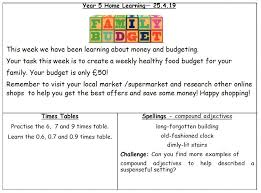 online family budget home learning 25 4 19 family budget holbeach blog