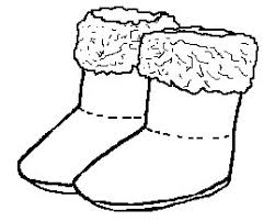 Small Picture Snow Boots Coloring Coloring Pages