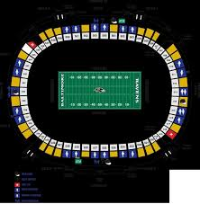 Invesco Field Seating Chart Club Level Denver Broncos Seating Tehnostroy Info