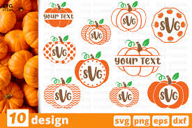 You can copy, modify, distribute and perform the work, even for commercial purposes, all. Halloween Pumpkins Monogram Svg Bundle Graphic By Svgocean Creative Fabrica