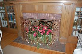 leaded glass fireplace screens winsome interior dining table with leaded glass fireplace screens
