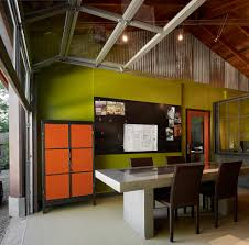 interior industrial design ideas home office with wood ceiling green walls interior r53 interior