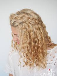 Hairstyles For Frizzy Hair 12 Stunning 244 Curly Hairstyles In 244 Days Day 24 Hair Romance
