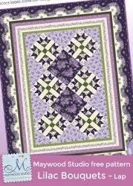 Little One Girl Quilt by Debbie Beaves using Little One Flannel ... & Lilac Bouquets (lap size) free pattern designed by Debbie Beaves using her  fabric collection Adamdwight.com