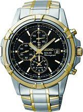 "seiko watches seiko divers watches watch shop comâ""¢ mens seiko alarm chronograph solar powered watch ssc142p1"
