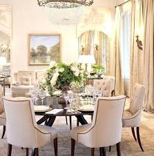 round dining room tables and chairs uk for small spaces
