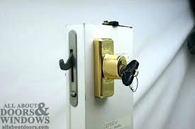 slider door lock repair anderson sliding door lock replacement