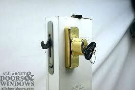 slider door lock repair anderson sliding door lock replacement