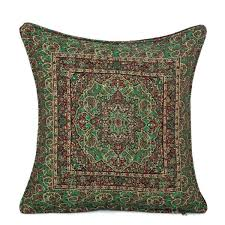 ottoman pillow green with cushion outdoor cushions canada