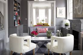 gray walls with gray chair rail
