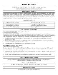 Example Information Security Administrator Resume Sample