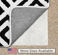 gorilla grip original area rug gripper pad for carpeted floors made in usa size 5 x 7 available in many sizes pads provide thick cushion under rugs