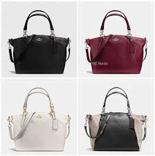 new coach f36675 small kelsey satchel in pebble leather cross bag nwt