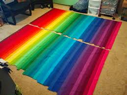 Lets Quilt Something: Rainbow Bargello - Jelly Roll Kona Roll Up ... & Next you will take the bottom row and sew it to the top row with right  sides together. By doing this you will form a tube like fabric strip. Adamdwight.com