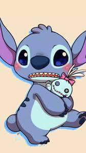 Cute Wallpaper Cartoon Stitch Character