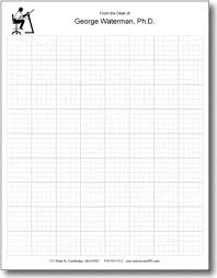 5x5 Graph Paper Letter Personalized Graph Paper Pads