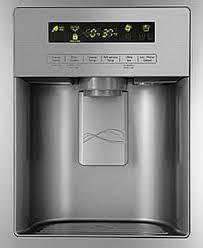 kenmore elite fridge side by side. kenmore refrigerator display panel and dispenser elite fridge side by k